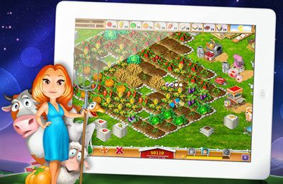 Download My Farm Life HD iPhone free game.