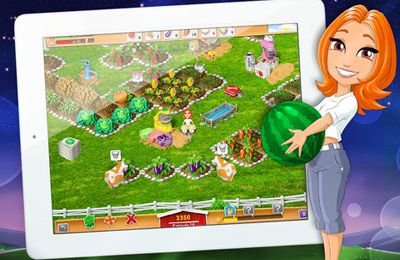 Capturas de pantalla del juego My Farm Life HD para iPhone, iPad o iPod.