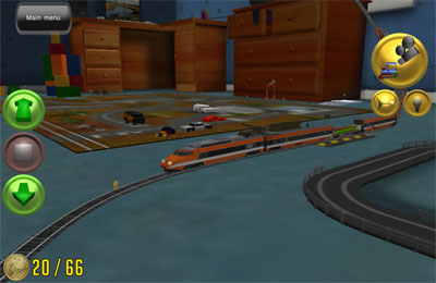 Screenshots vom Spiel My First Trainz Set für iPhone, iPad oder iPod.