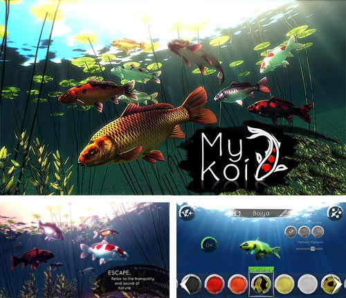 Download My Koi iPhone free game.