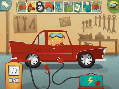 Screenshots of the My little work: Garage game for iPhone, iPad or iPod.