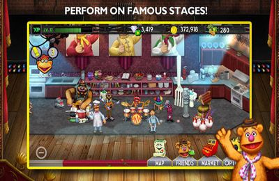 Capturas de pantalla del juego My Muppets Show para iPhone, iPad o iPod.