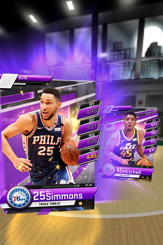 Capturas de pantalla del juego My NBA 2K19 para iPhone, iPad o iPod.