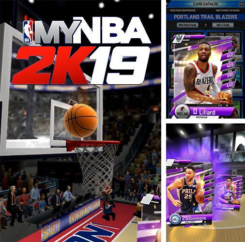 In addition to the game Froggy Splash for iPhone, iPad or iPod, you can also download My NBA 2K19 for free.
