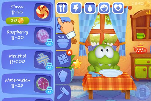 Download My Om Nom iPhone free game.