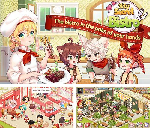 In addition to the game iRoller coaster 2 for iPhone, iPad or iPod, you can also download My Secret Bistro for free.