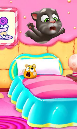 Download My talking Tom 2 iPhone free game.