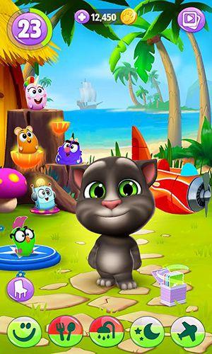 Free My talking Tom 2 download for iPhone, iPad and iPod.