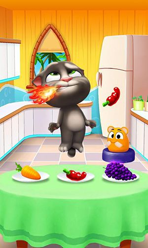 Гра My talking Tom 2 для iPhone