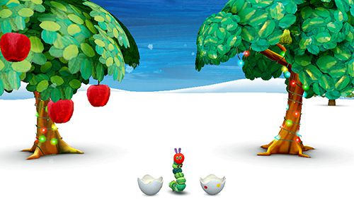 Écrans du jeu My very hungry caterpillar pour iPhone, iPad ou iPod.