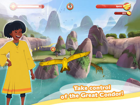 Download Mysterious Cities of Gold – Flight of the Condor iPhone free game.