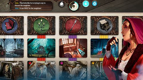 Screenshots of the Mysterium: The board game game for iPhone, iPad or iPod.