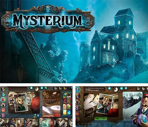 除了 iPhone、iPad 或 iPod 游戏,您还可以免费下载Mysterium: The board game, 。