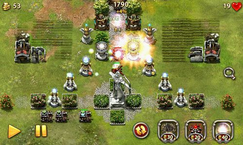 Kostenloser Download von Myth defense: Light forces für iPhone, iPad und iPod.