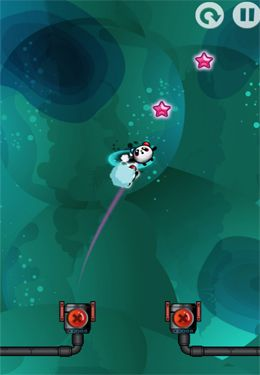 Capturas de pantalla del juego Nano Panda para iPhone, iPad o iPod.
