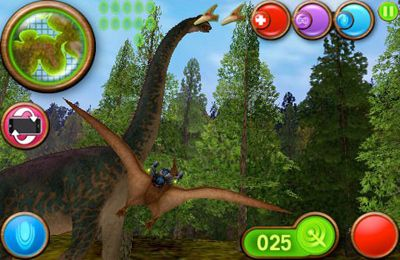 Descarga gratuita de Nanosaur 2 para iPhone, iPad y iPod.