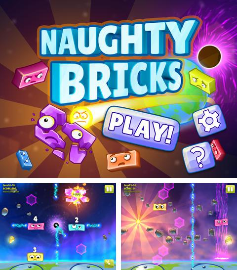 In addition to the game Vector for iPhone, iPad or iPod, you can also download Naughty Bricks for free.