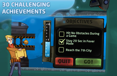Kostenloser Download von Nautilus – The Submarine Adventure für iPhone, iPad und iPod.