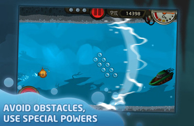 Screenshots vom Spiel Nautilus – The Submarine Adventure für iPhone, iPad oder iPod.