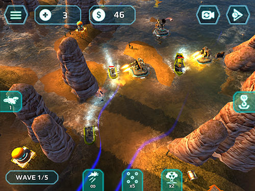 Download Naval storm TD iPhone free game.