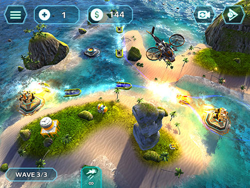 Descarga gratuita de Naval storm TD para iPhone, iPad y iPod.