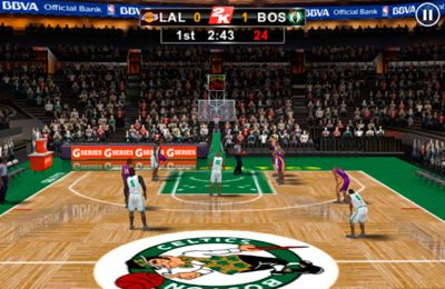 Descarga gratuita del juego NBA 2K12 para iPhone.