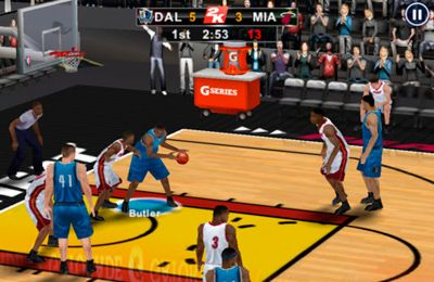 Free NBA 2K12 download for iPhone, iPad and iPod.