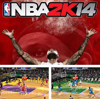 In addition to the game Bouncy hoops for iPhone, iPad or iPod, you can also download NBA 2K14 for free.