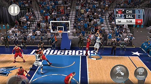 Screenshots of the NBA 2K18 game for iPhone, iPad or iPod.