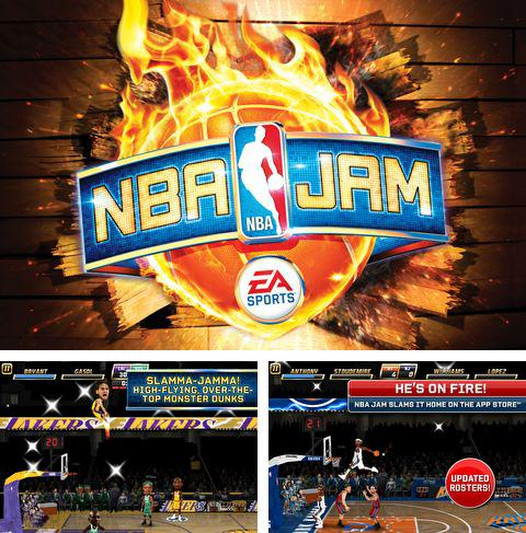 In addition to the game Snow Bike Racing for iPhone, iPad or iPod, you can also download NBA JAM for free.