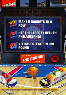 Descarga gratuita del juego NBA: El Rey del Court 2 para iPhone.