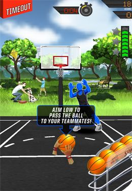 Kostenloser Download von NBA: King of the Court 2 für iPhone, iPad und iPod.