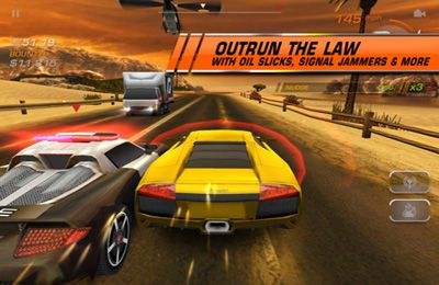 Kostenloses iPhone-Game RIDGE RACER ACCELERATED herunterladen.