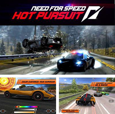 In addition to the game Angry birds: NBA the finals for iPhone, iPad or iPod, you can also download Need for Speed: Hot Pursuit for free.