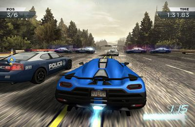 Free Need for Speed:  Most Wanted download for iPhone, iPad and iPod.