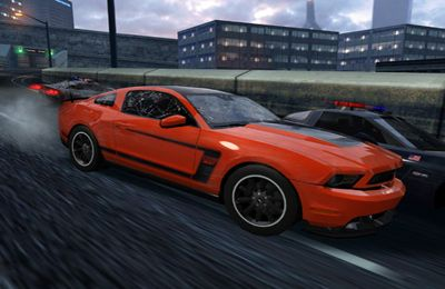 iPhone、iPad または iPod 用Need for Speed:  Most Wantedゲームのスクリーンショット。