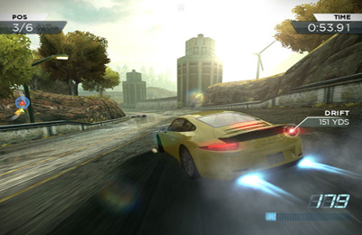 Геймплей Need for Speed:  Most Wanted для Айпад.