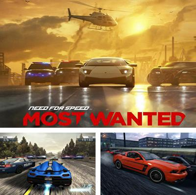 En plus du jeu Fonds la Pomme pour iPhone, iPad ou iPod, vous pouvez aussi télécharger gratuitement La Soif de la Vitesse:Particulièrement Dangeureux, Need for Speed:  Most Wanted.