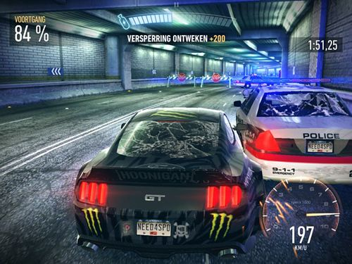 Kostenloser Download von Need for speed: No limits für iPhone, iPad und iPod.