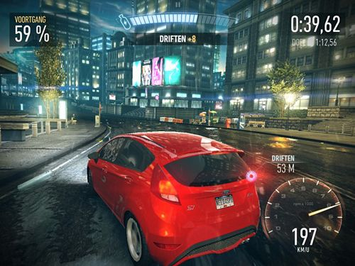 Écrans du jeu Need for speed: No limits pour iPhone, iPad ou iPod.