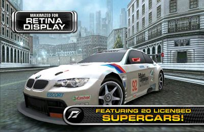 Kostenloser Download von Need for Speed Shift für iPhone, iPad und iPod.