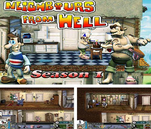 Download Neighbours from hell: Season 1 iPhone free game.