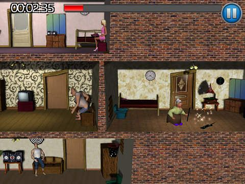 Descarga gratuita de Neighbours revenge: Deluxe para iPhone, iPad y iPod.