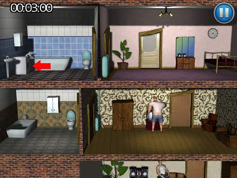 Capturas de pantalla del juego Neighbours revenge: Deluxe para iPhone, iPad o iPod.