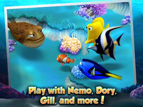 Download Nemo's Reef iPhone free game.