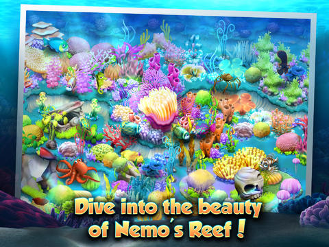 Free Nemo's Reef download for iPhone, iPad and iPod.