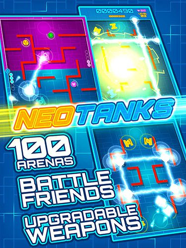 Screenshots of the Neo arcade game for iPhone, iPad or iPod.