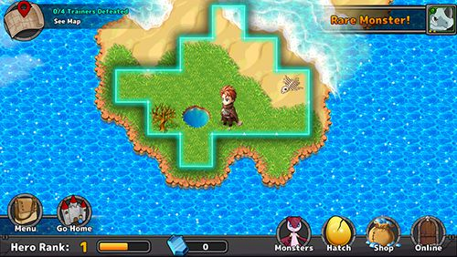 Screenshots of the Neo monsters game for iPhone, iPad or iPod.
