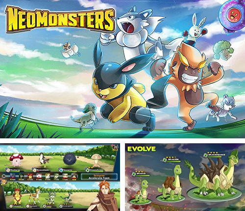 In addition to the game Pocket Army for iPhone, iPad or iPod, you can also download Neo monsters for free.