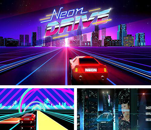 Download Neon drive iPhone free game.